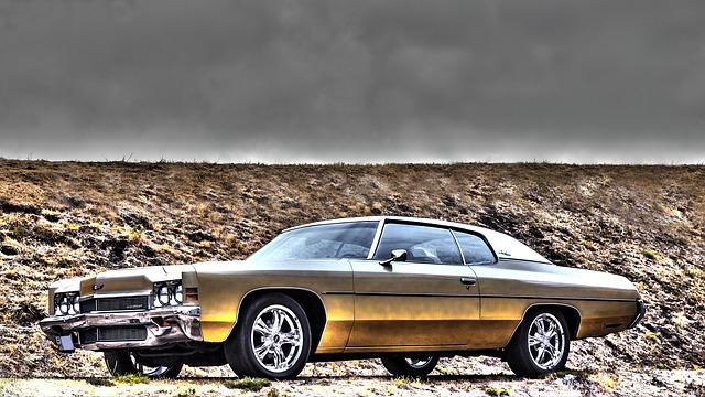 odstavený Chevrolet