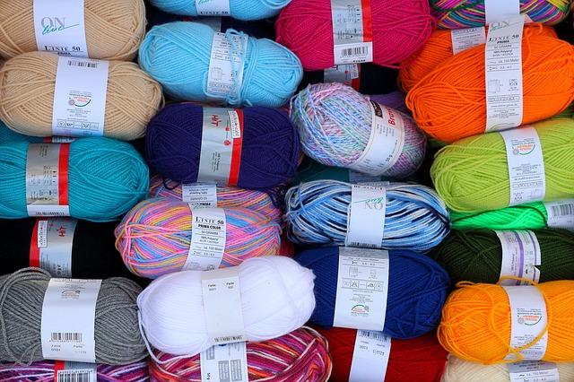 vlny různých barev