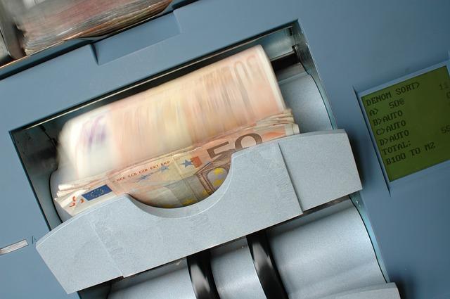 počitadlo bankovek