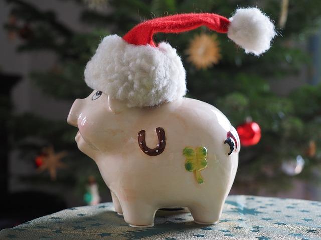 vánoční prasátko