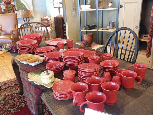 červená keramika