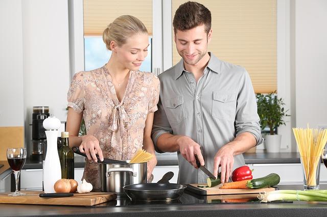 společné vaření páru