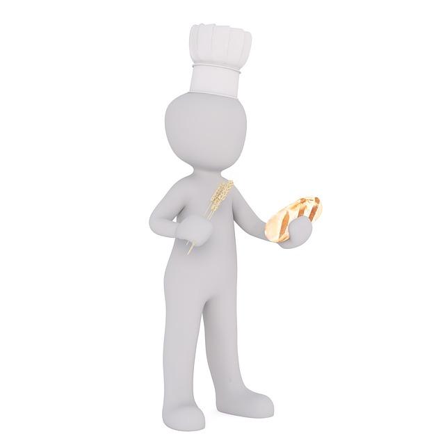 pekař a chléb