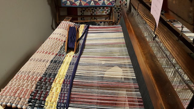 barevná tkanina