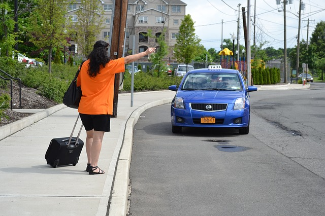 stopování taxi