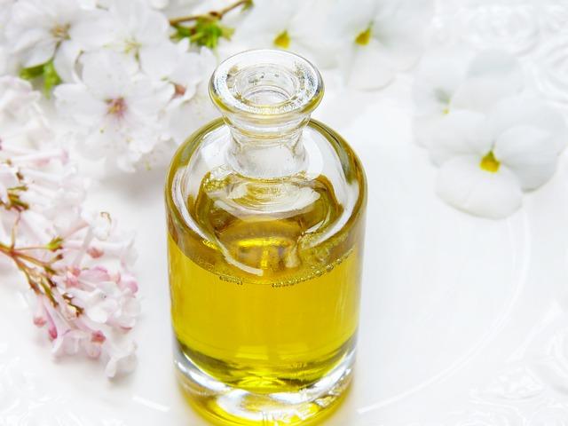 lahvička s olejíčkem