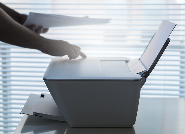 ovládání tiskárny