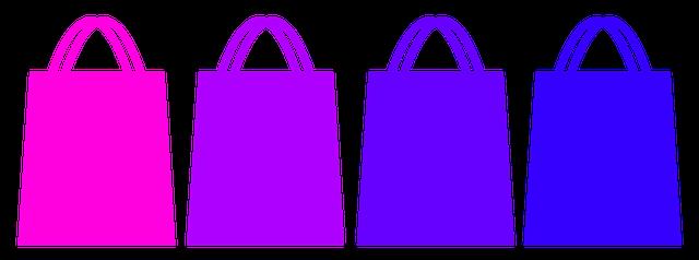4 barevné tašky