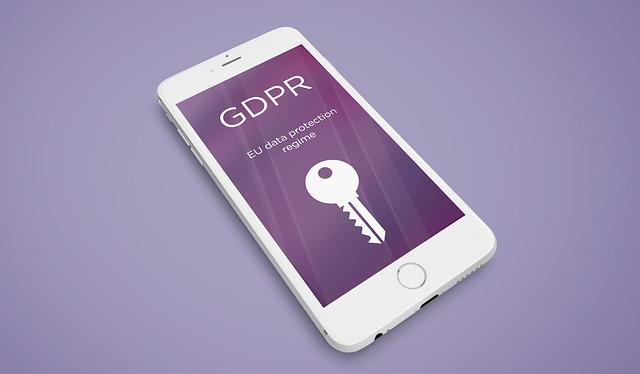 GDPR na mobilu