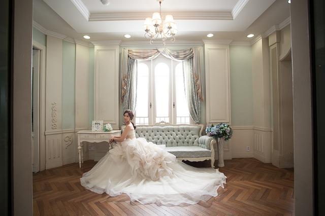 nevěsta na zámku