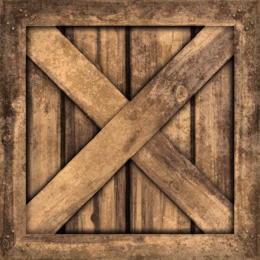 bedna ze dřeva